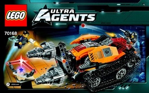 Фото: Lego Ultra Agents drillex diamond кража алмаза 70168