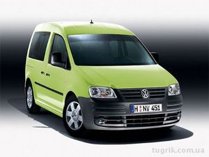 Запчасти на Volkswagen Caddy с 04-12 г. в
