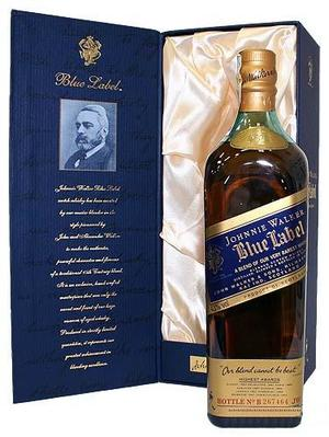 Виски Johnnie Walker Blue label