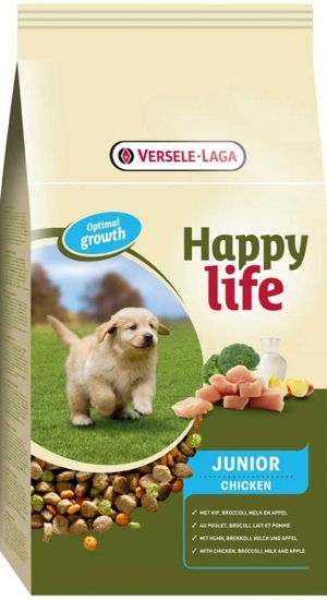 Корм для собак Happy Life Junior Chicken Юниор.