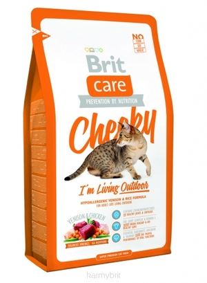 Корм для кошек BRIT CARE Cat Cheeky I´m Living Outdoor